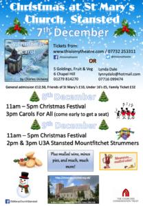 Christmas Festival 2018 Poster
